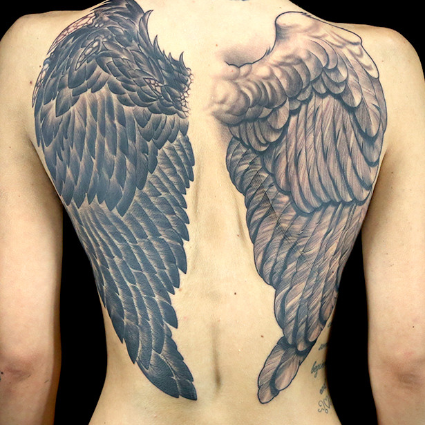 elimination tattoo 2 on 1 wings ink master photo galleries and