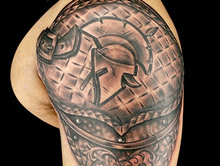 Elimination Tattoo: Shoulder Armor