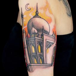 Elimination Tattoo: New School Landmarks