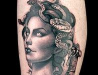 Elimination Tattoo: Medusa