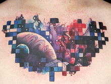Elimination Tattoo: Outer Space