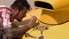 Ink Master: Flash Challenge 2: Linework on a Hotrod