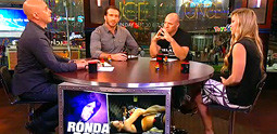 Ronda Rousey and Tim Kennedy