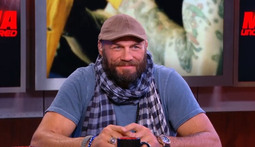 Randy Couture Checks In