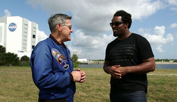 Dhani at NASA