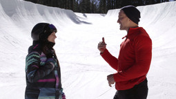 Snowboarding with Kelly Clark