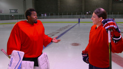 Slap Shots With Hilary Knight