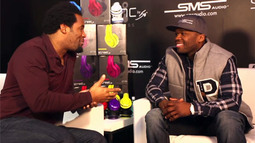Dhani Jones at CES: 50 Cent's New Headphones