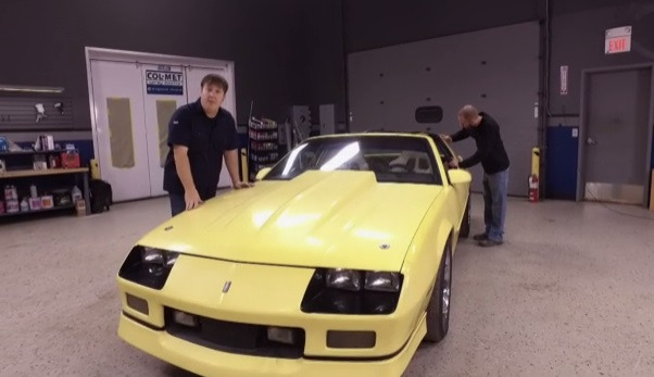 Detroit Muscle: IROC Paint Overhaul and Payoff