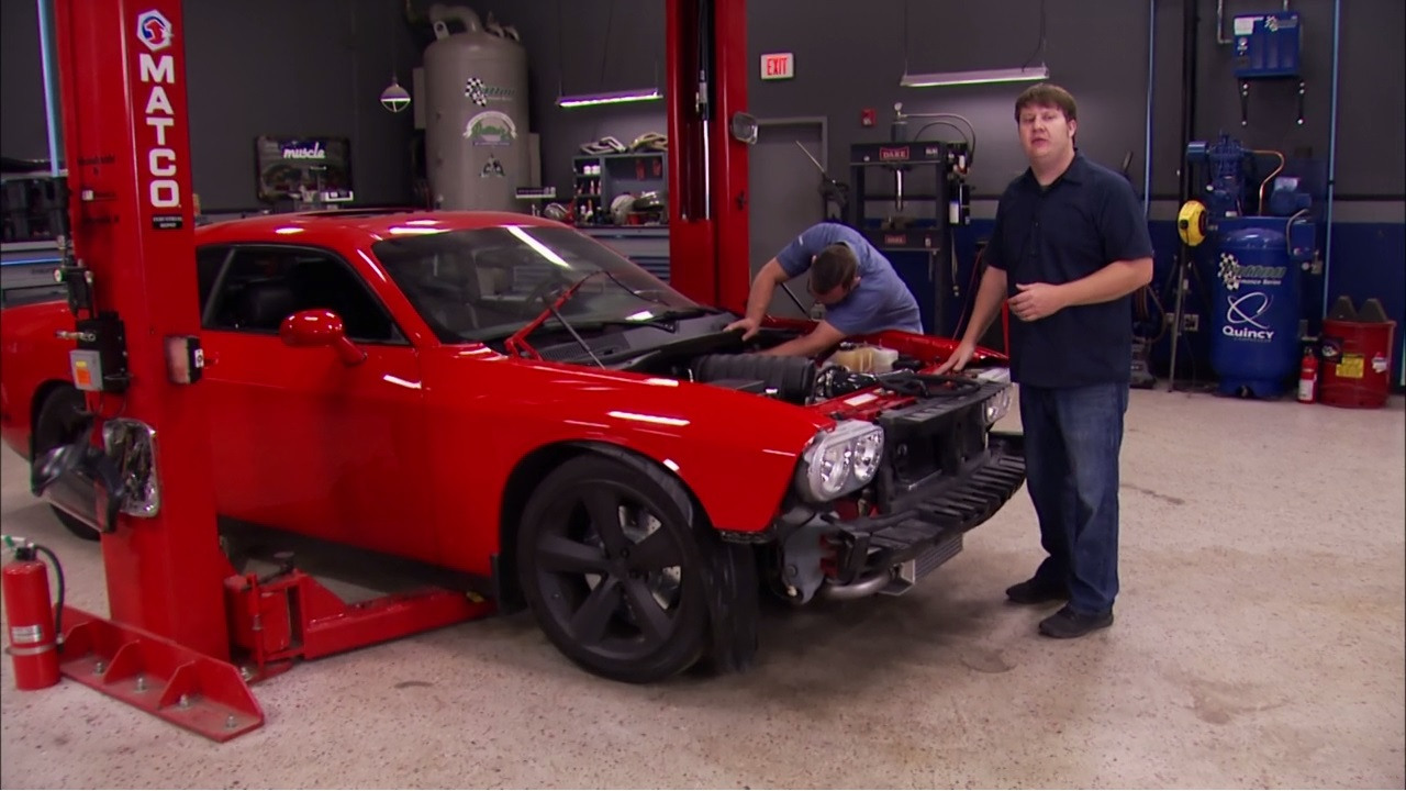Detroit Muscle: Powerstop Challenger: Final Assembly