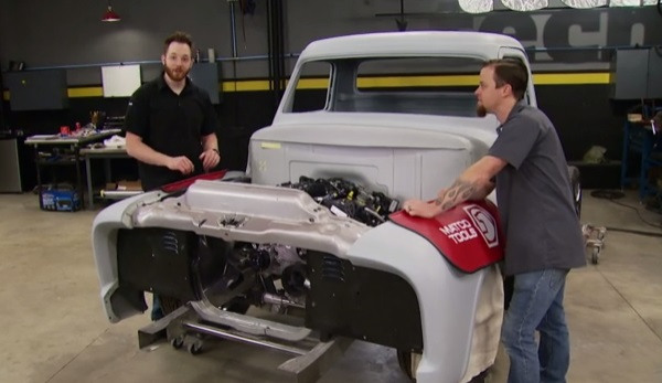 Truck Tech: Project Basket Case Intercooler Fab & Frame Paint