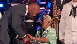 Dwayne Johnson Honors Pearl Harbor Survivors