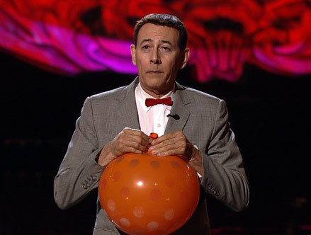 Pee-wee And His Balloon