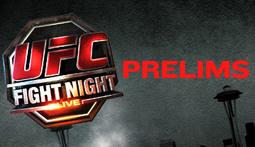 UFC Fight Night Live Blog - Prelims