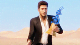 Nathan Drake of Uncharted 3's Character of the Year Acceptance