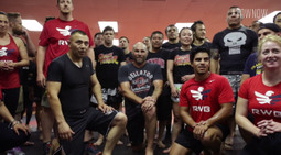 Randy Couture and Army Veteran Jorge Acosta Make a VOW